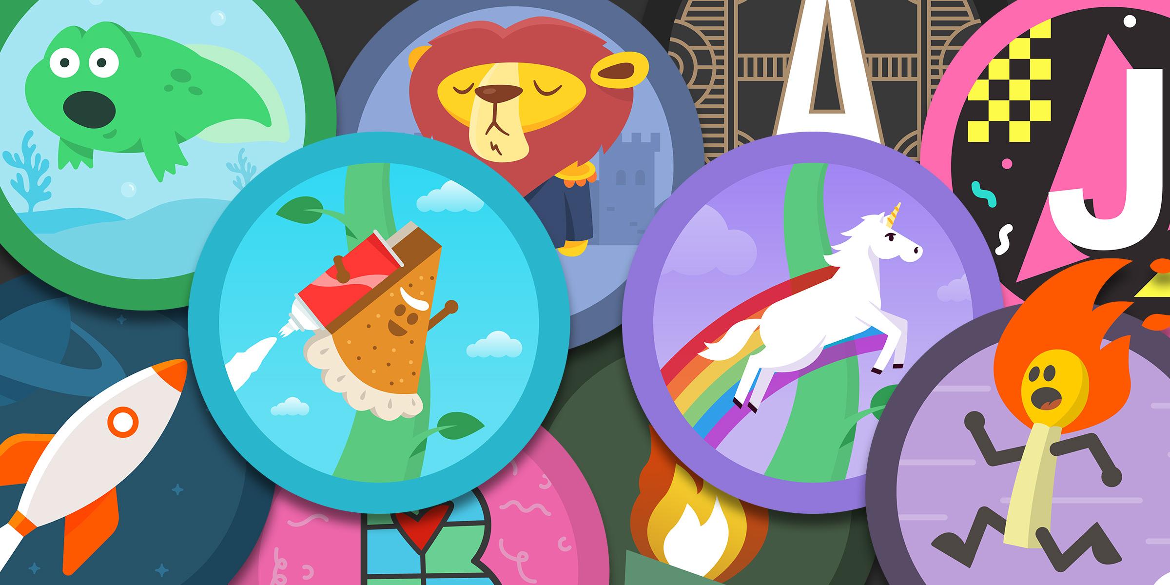 Achievement Badges for Vocabulary.com